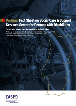 Portugal - Fact Sheet on Social Care & Support Services Sector for Persons with Disabilities